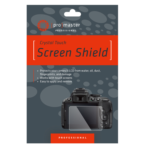 Crystal Touch Screen Shield - Panasonic ZS200, TZ200, LX100